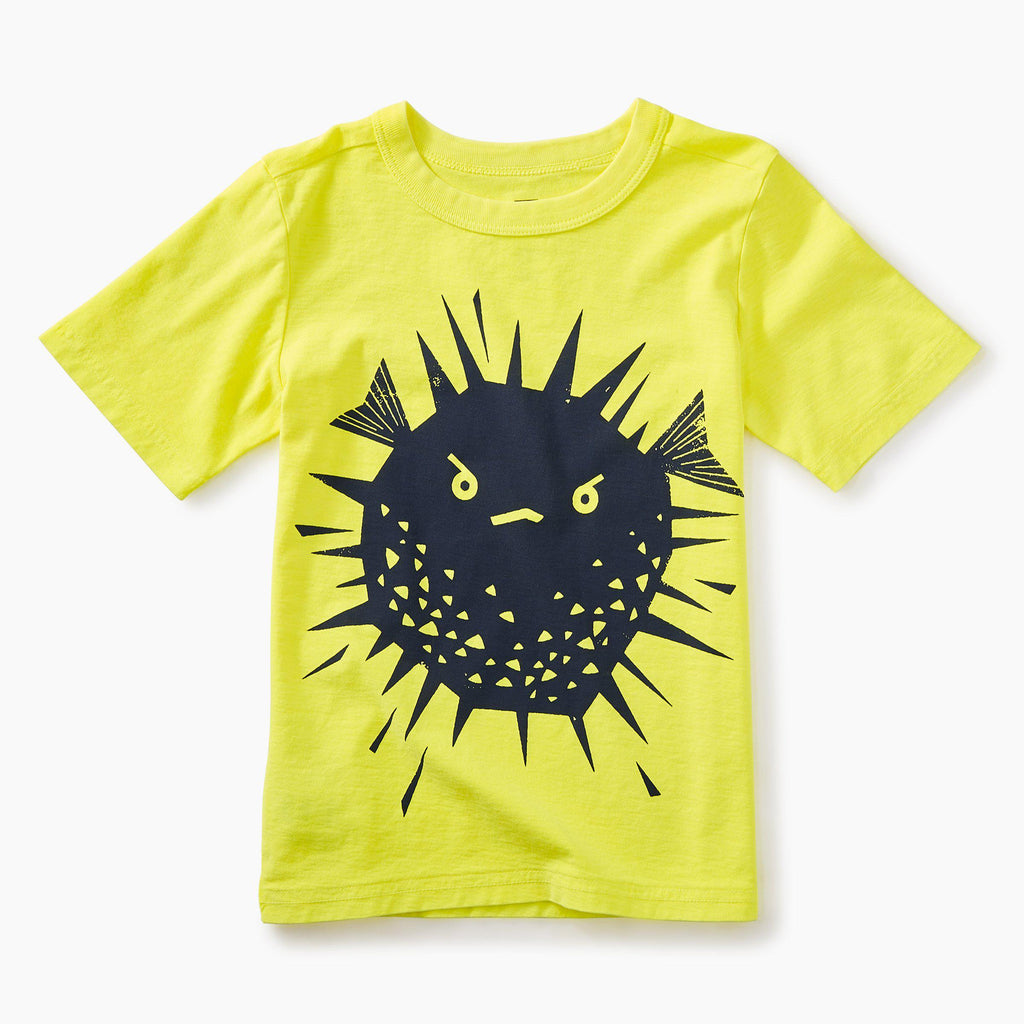 Puffer Fish Graphic Baby Tee-Baby Boy Apparel - Tees-Tea Collection-6-9M-Eden Lifestyle