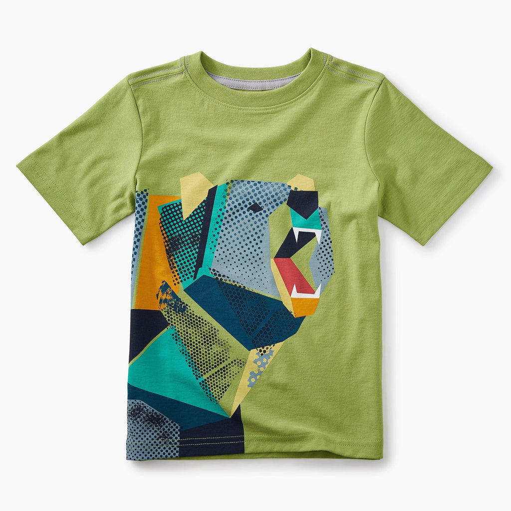 Tea, Tee,  Pop-art Bear Graphic Tee