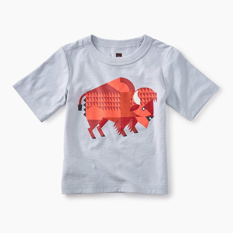 Bison Graphic Baby Tee