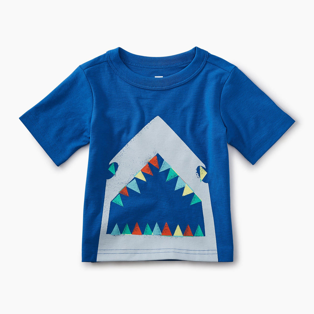 Great White Graphic Baby Tee-Tees-Tea Collection-3-6M-Eden Lifestyle
