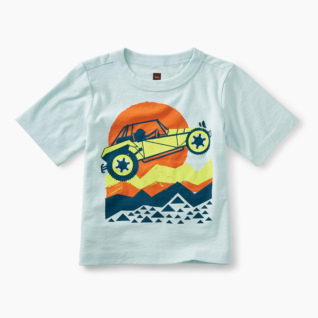 Dune Buggy Graphic Baby Tee-Tees-Tea Collection-6-9M-Eden Lifestyle