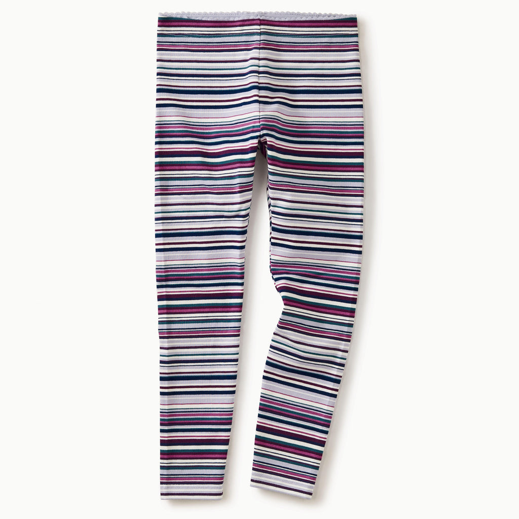 Striped Leggings Lilac Mist