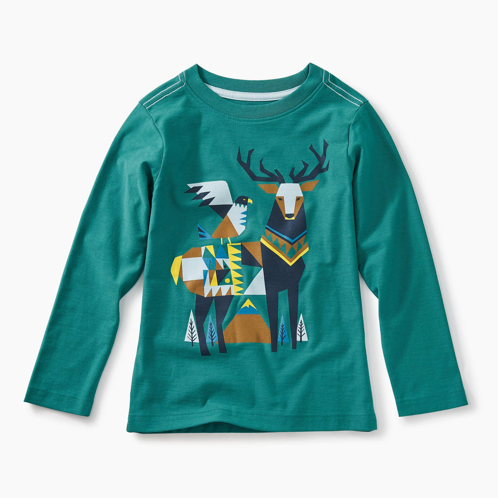 Scandi Stag Graphic Tea-Boy - Tees-Tea Collection-2-Eden Lifestyle