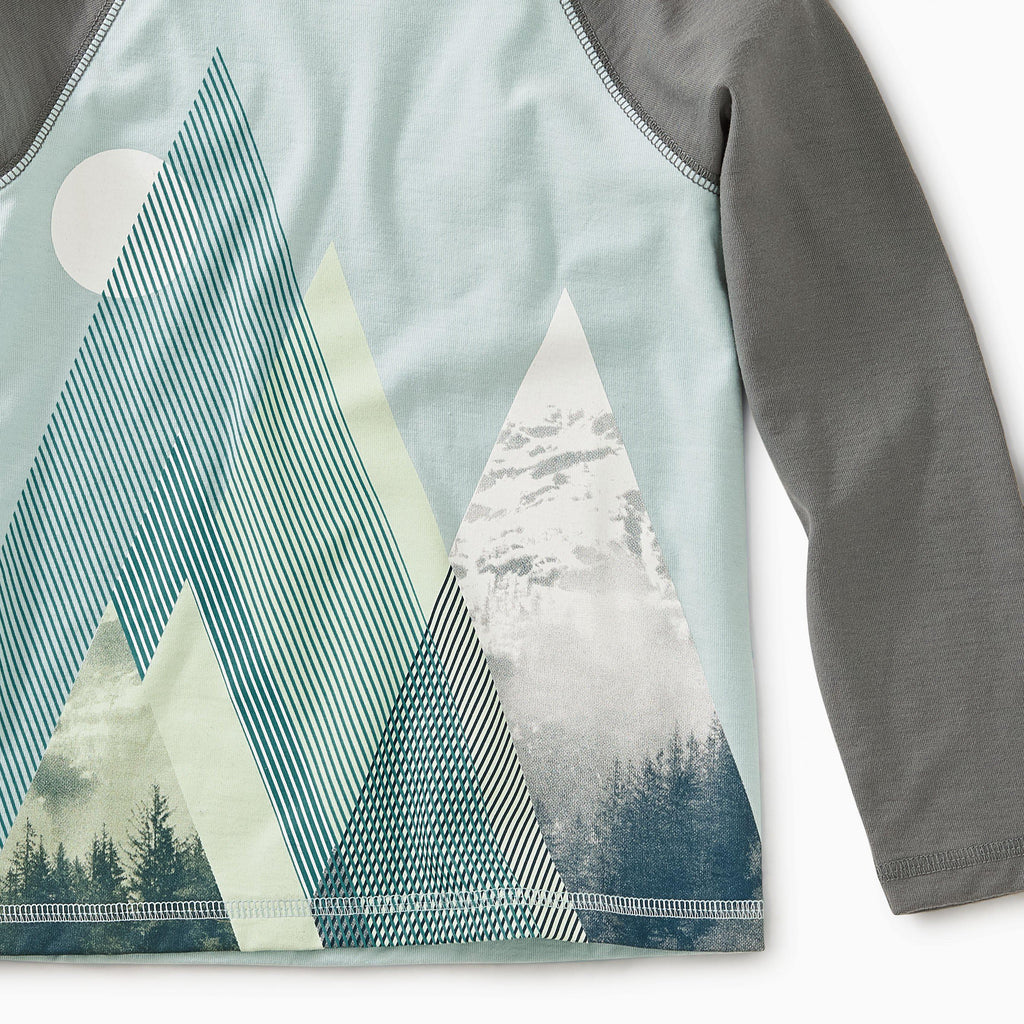 Moonlit Mountains Raglan Tee-Boy - Tees-Tea Collection-2-Eden Lifestyle