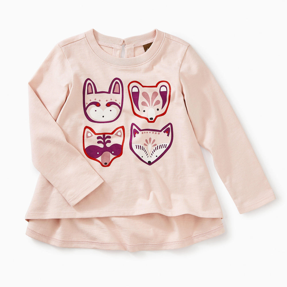 Darling Critters Twirl Tee-Baby Girl Apparel - Tees-Tea Collection-3-6M-Eden Lifestyle