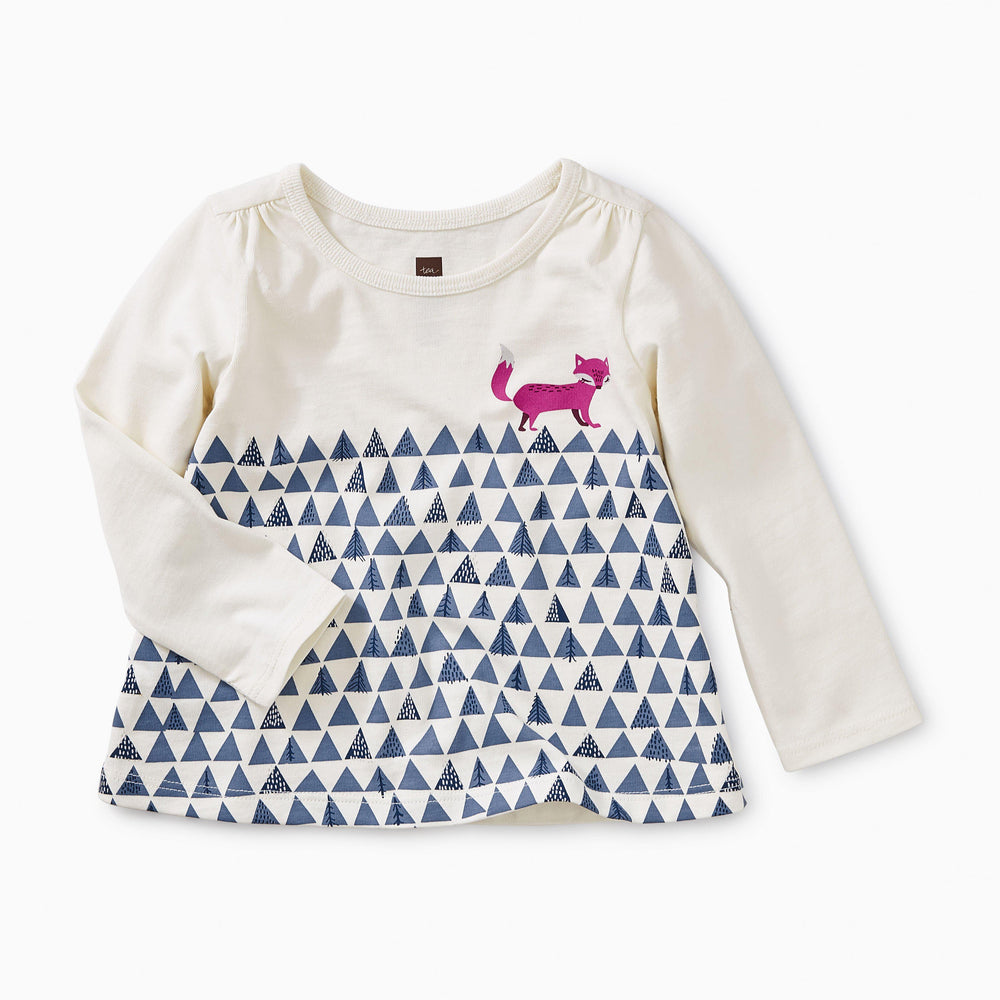 Fox Trot Graphic Tee-Girl - Tees-Tea Collection-3-6m-Eden Lifestyle