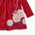 Tea Collection, Baby Girl Apparel - Dresses,  Snow Blossoms Graphic Dress