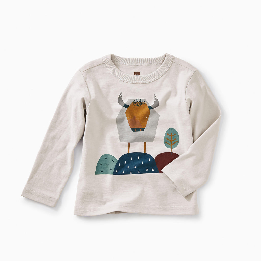 Buffalo Graphic Tee-Shirts-Tea Collection-3-6M-Eden Lifestyle