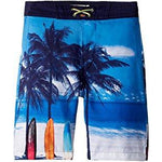 Appaman Blue Beach Swim Trunks-Boy - Swimwear-Appaman-2T-Eden Lifestyle