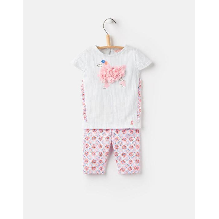 Joules Paula T-Shirt and Pants Set-Baby Girl Apparel - Outfit Sets-Joules-9-12M-Eden Lifestyle