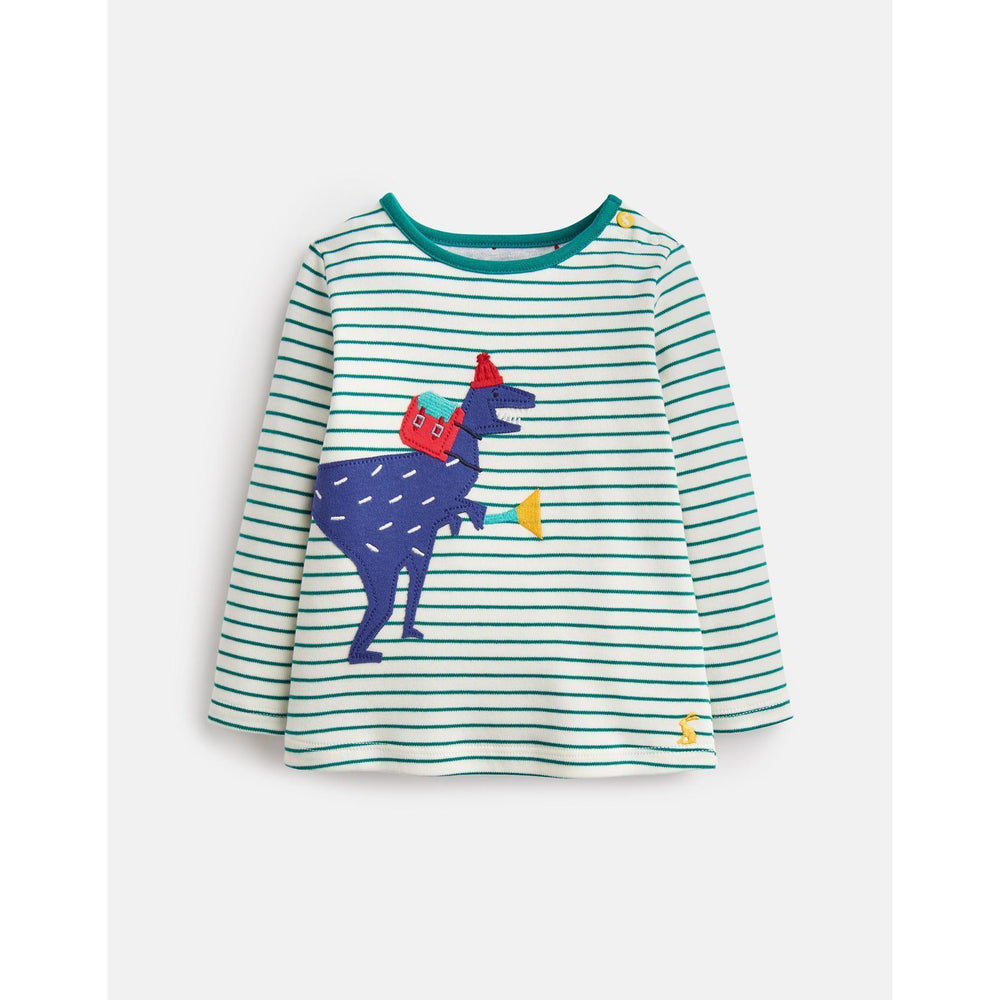 Joules, Baby Boy Apparel - Shirts & Tops,  Joules Jack Long Sleeve Applique Top