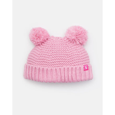 Image of Pom Pom Knitted Double Pom Pom Hat