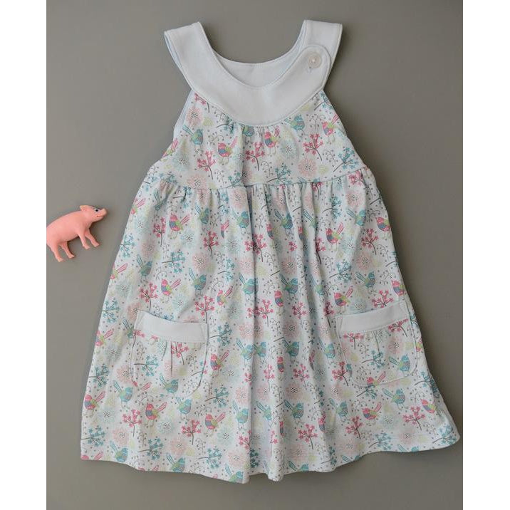 Swing Dress - Bloomer - Regal Bird-Baby Girl Apparel - Dresses-Feather Baby-3-6M-Eden Lifestyle