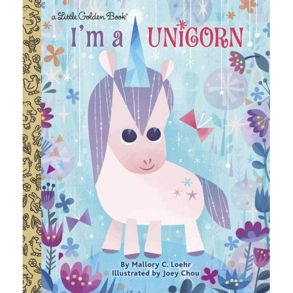 Little Golden Books - I'm a Unicorn-Book-Little Golden Books-Eden Lifestyle