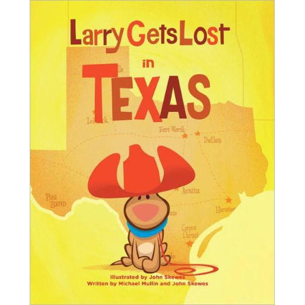 Larry Gets Lost in Texas Book-Books-Eden Lifestyle-Eden Lifestyle