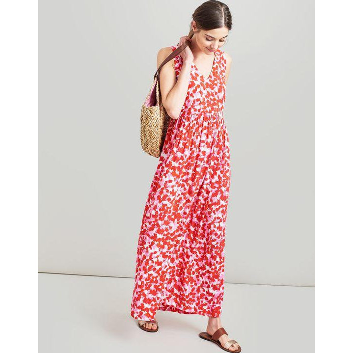 249c515a7a Joules Anastasia Sleeveless Maxi Dress - Pink Petals-Women - Dresses -Joules-2