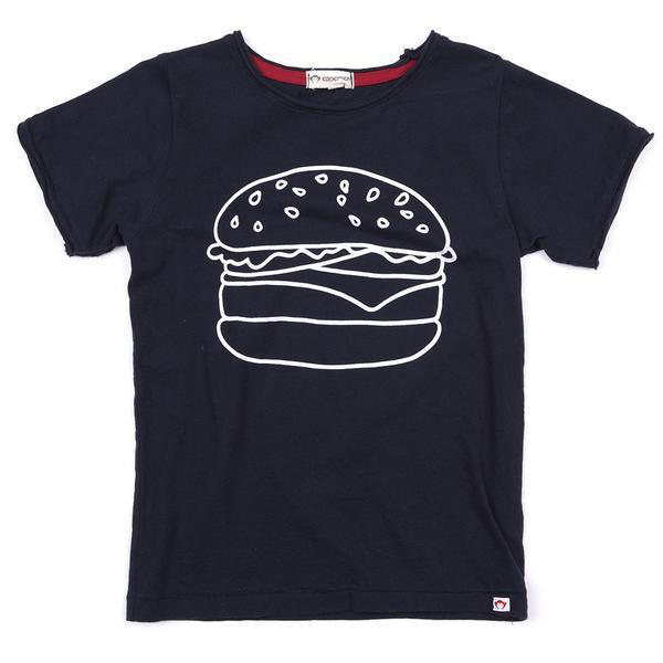Appaman Burger Tee Blue-Boy - Tees-Appaman-2T-Eden Lifestyle