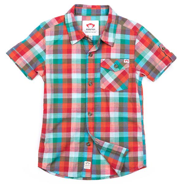 Appaman Benson Shirt - Carnival Plaid-Boy - Shirts-Appaman-2T-Eden Lifestyle