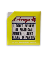 El Arroyo Political Parties Coaster Set