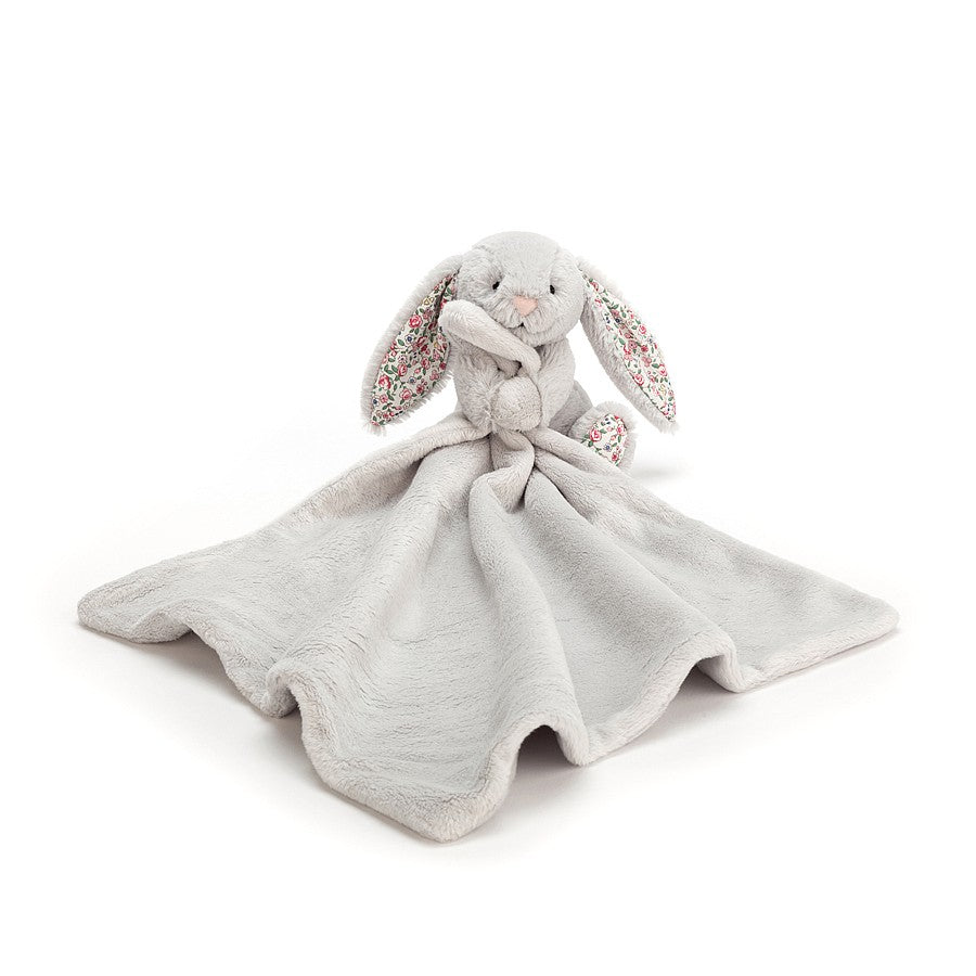 Jellycat, Gifts - Stuffed Animals,  Jellycat Blossom Silver Bunny Soother