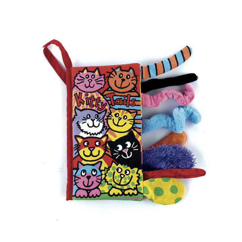 Jellycat Kitten Tails Soft Book-Books-Jellycat-Eden Lifestyle