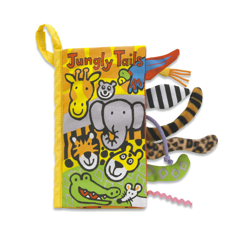 Jellycat Jungly Tails Soft Book-Books-Jellycat-Eden Lifestyle