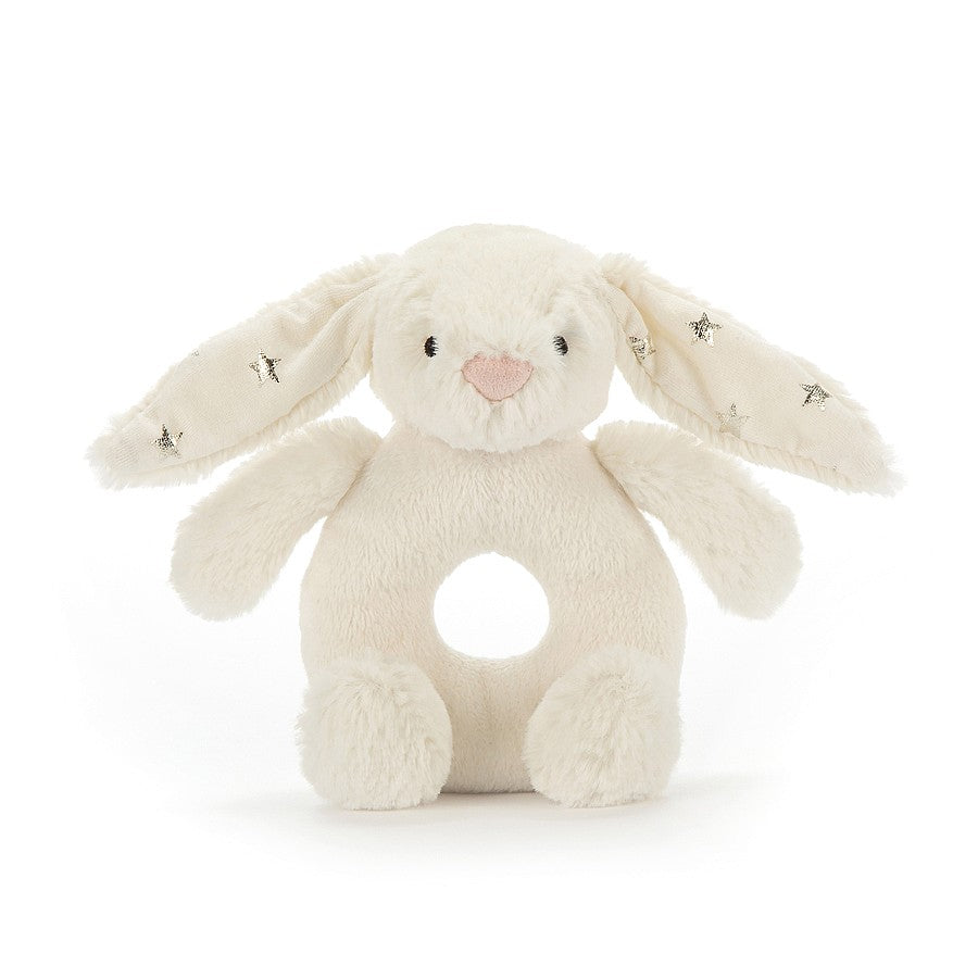 Jellycat Twinkle Bunny Ring Rattle-Gifts - Stuffed Animals-Jellycat-Eden Lifestyle