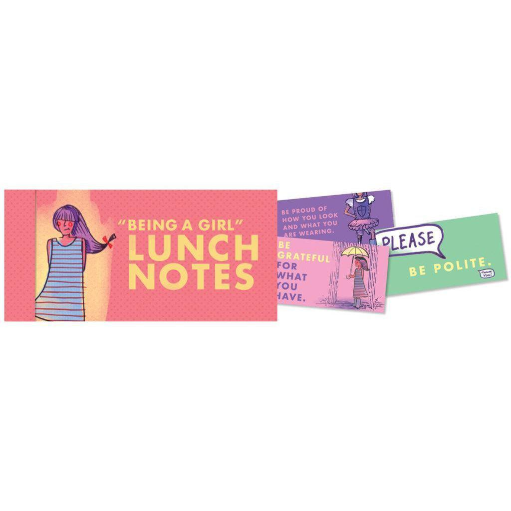 Lunch Notes for Girls-Book-Eden Lifestyle-Eden Lifestyle