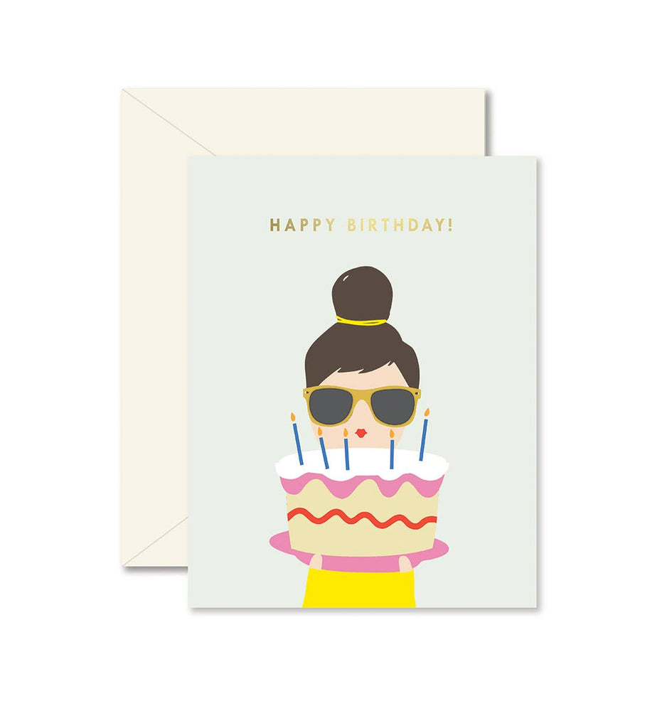 Eden Lifestyle Boutique, Gifts - Greeting Cards,  Birthday Cake Lady