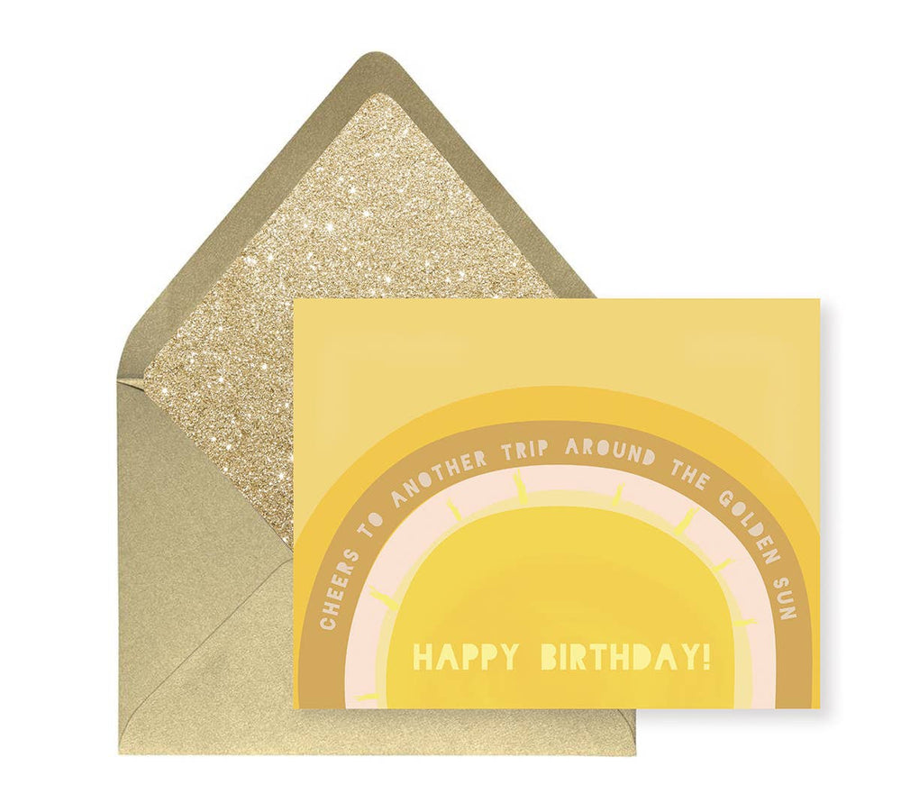 Eden Lifestyle Boutique, Gifts - Greeting Cards,  Birthday Sun Greeting Card