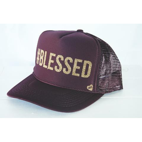 #Blessed Mother Trucker Hat-Accessories - Hats-Mother Trucker-Eden Lifestyle