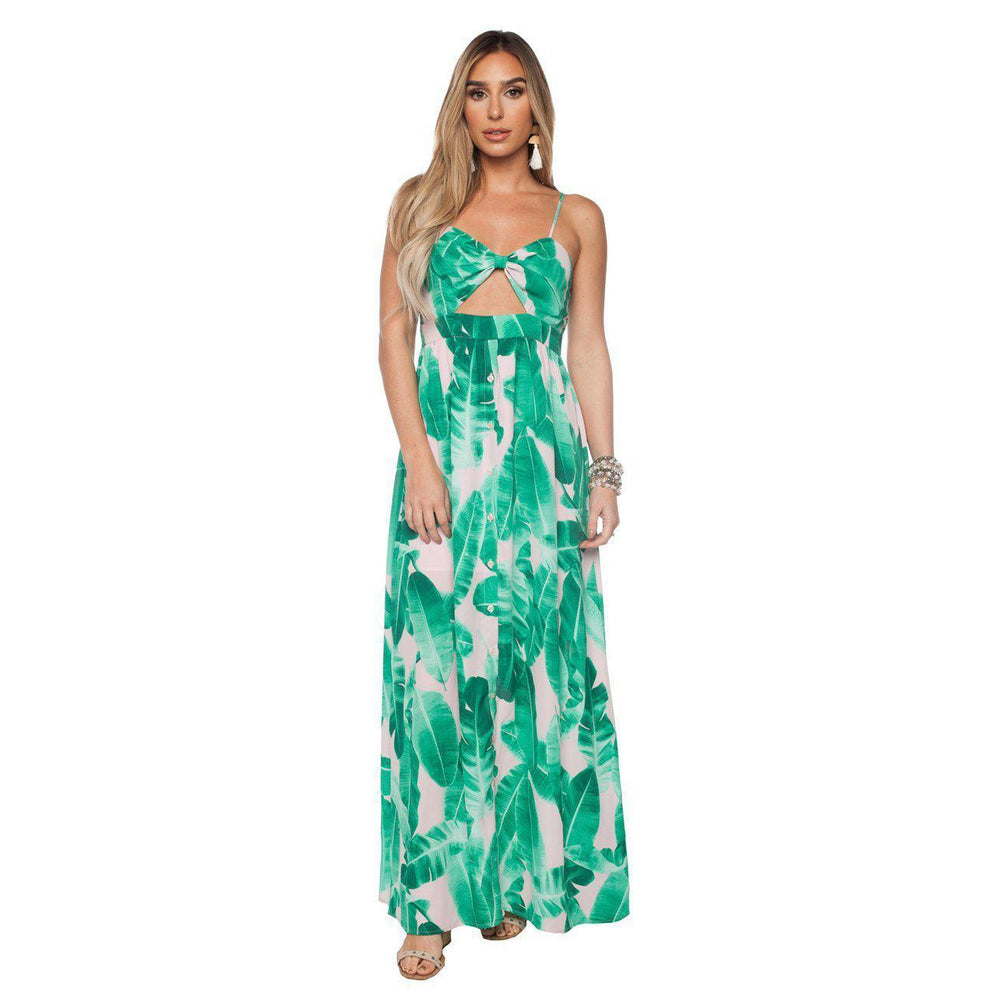 Buddy Love, Women - Dresses,  Kendall Maxi - Palm Springs