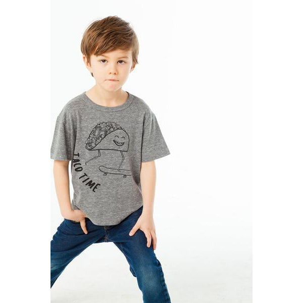 Chaser Boys Taco Time Tee-Boy - Tees-Chaser-4-Eden Lifestyle