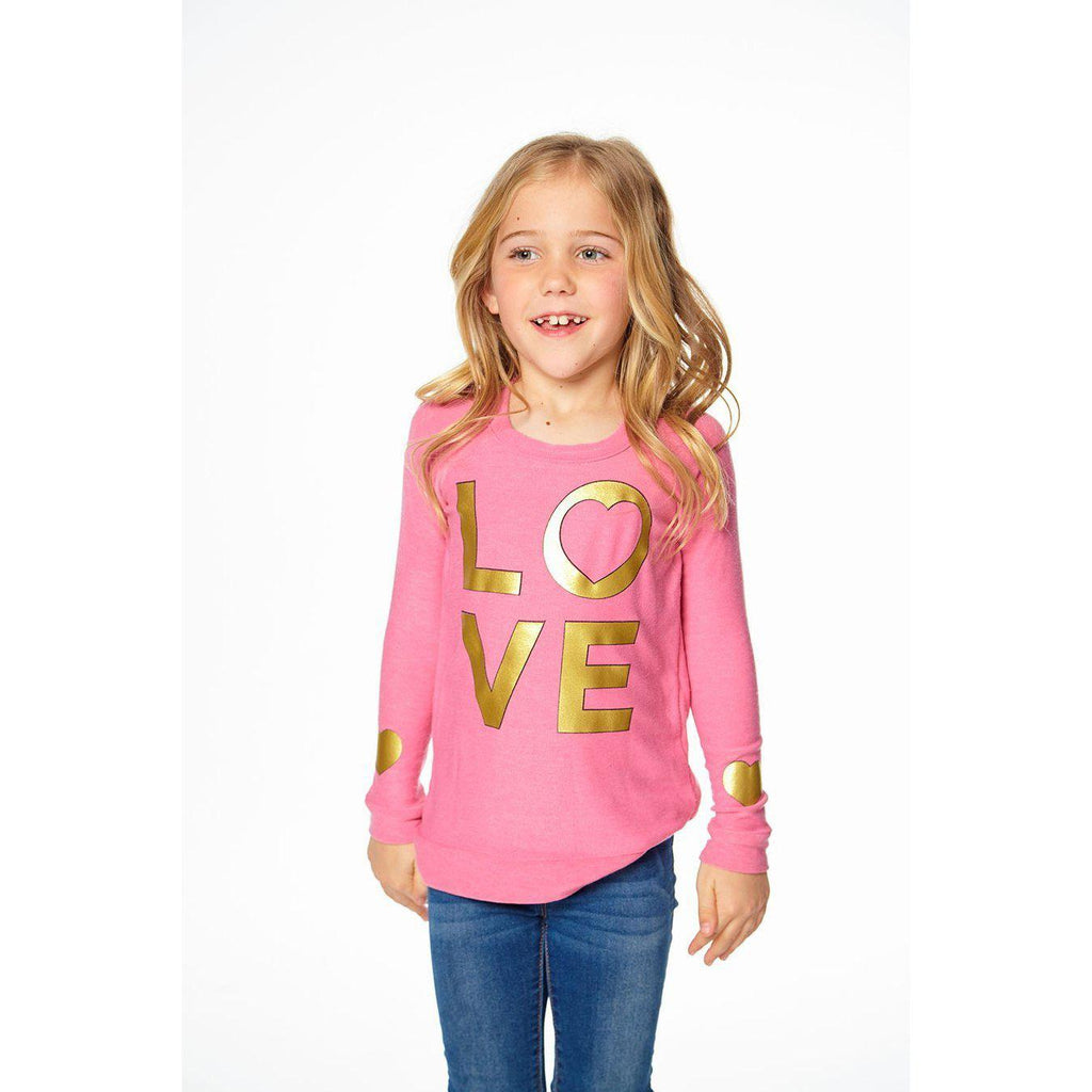 Chaser Girls Golden Love Top-Girl - Shirts & Tops-Chaser-3-Eden Lifestyle