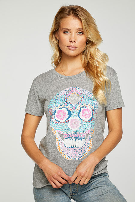 Chaser, Women - Tees,  Chaser Calavera Tee