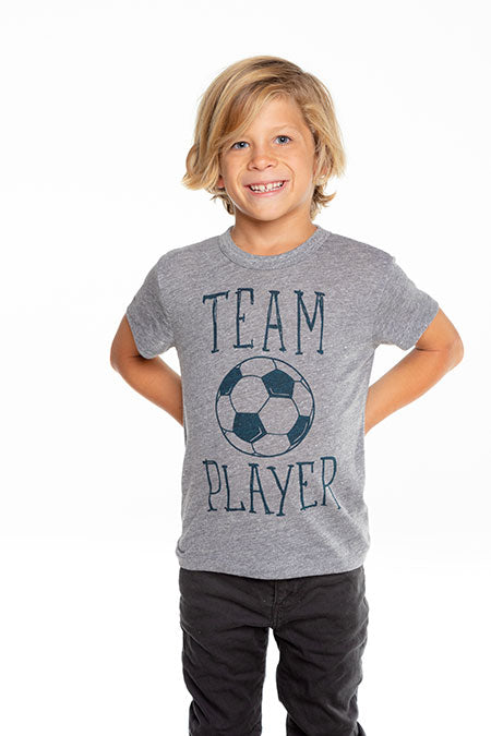 Chaser - Boys Triblend Short Sleeve Crew Neck Tee - Team Player