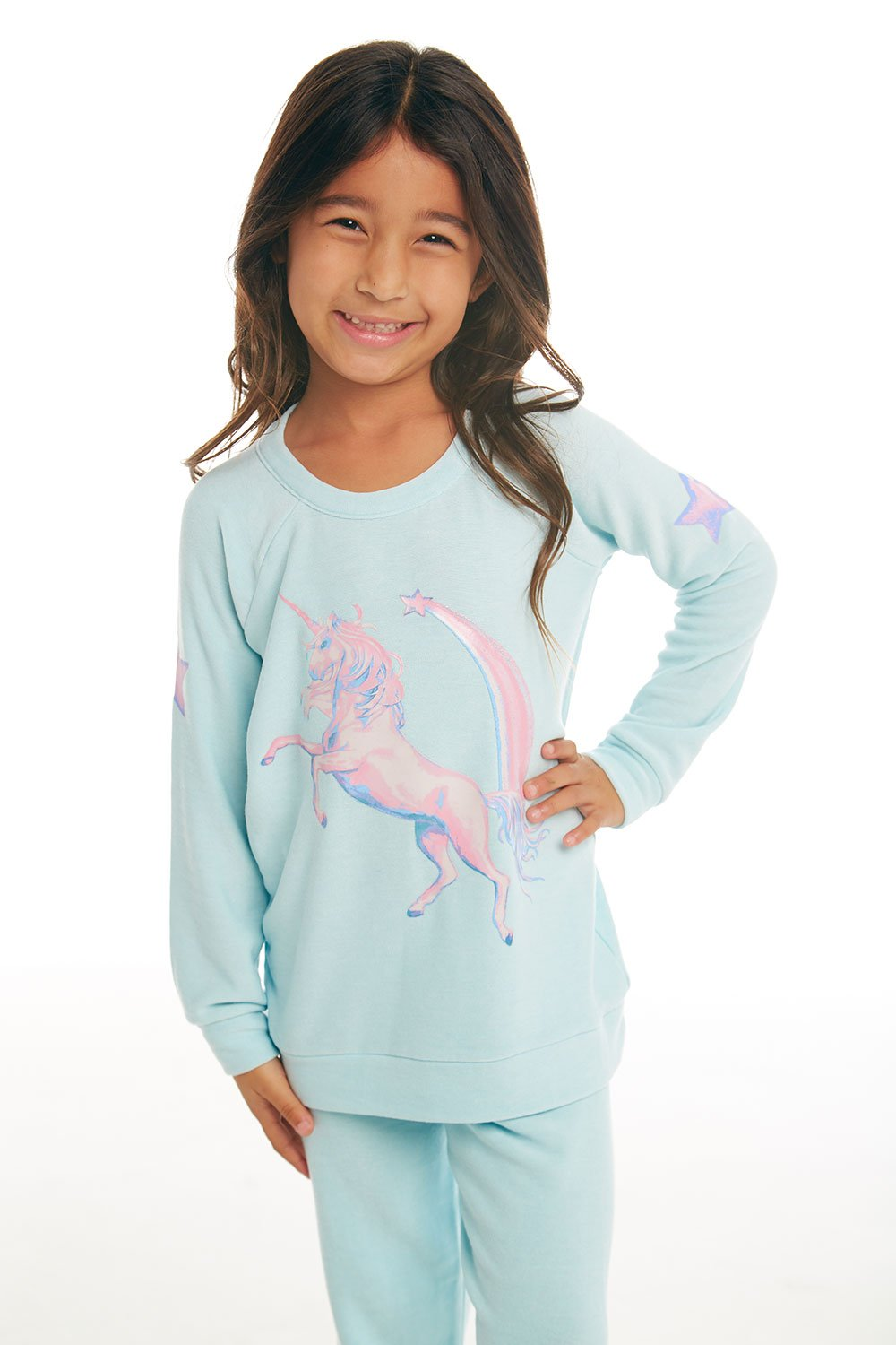 Chaser - Iridescent Unicorn Pullover