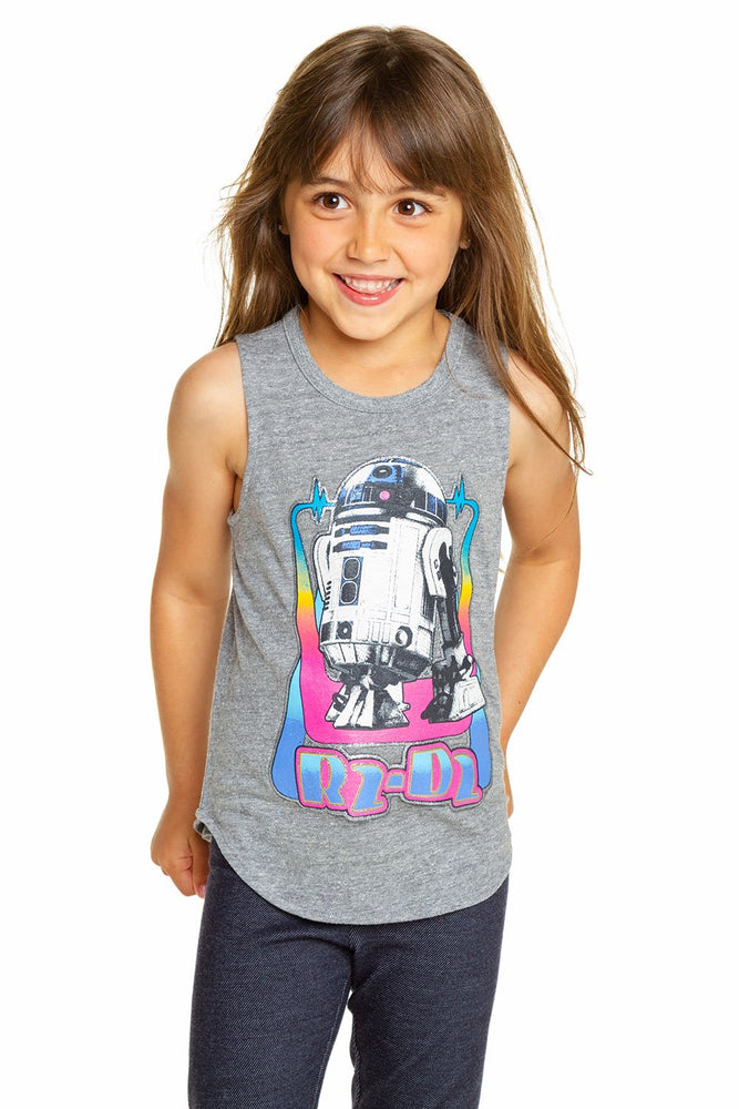 Chaser, Girl - Tees,  Chaser - Star Wars R2-D2 Tank Top