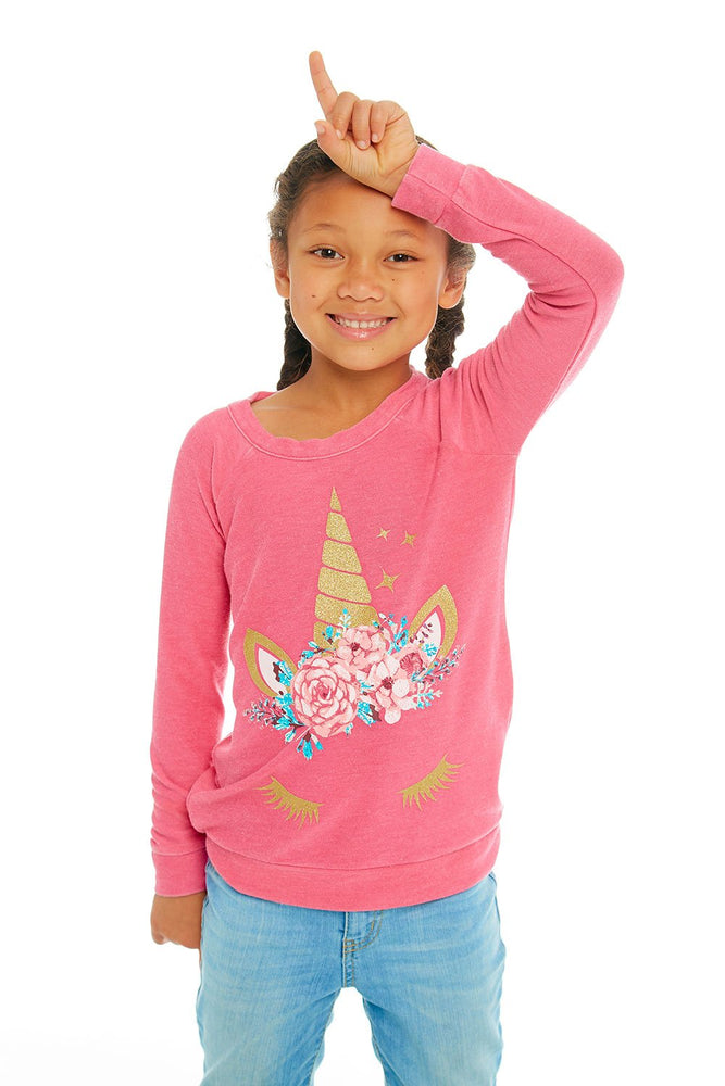 Chaser, Girl - Shirts & Tops,  Chaser - Unicorn Dream Pullover