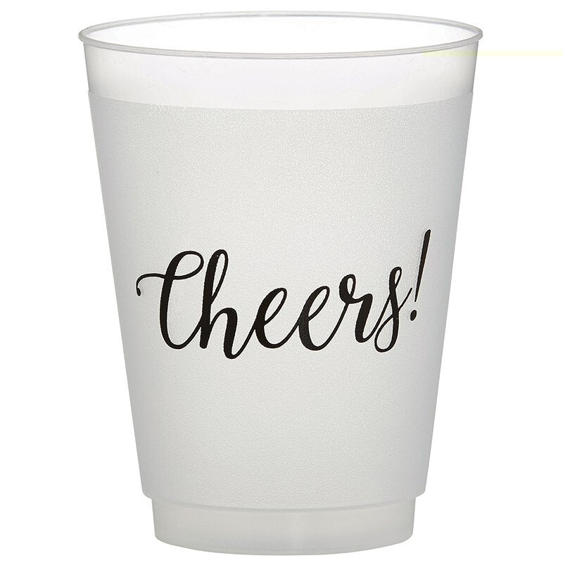 Cheers! Frosted Cup Set - Eden Lifestyle