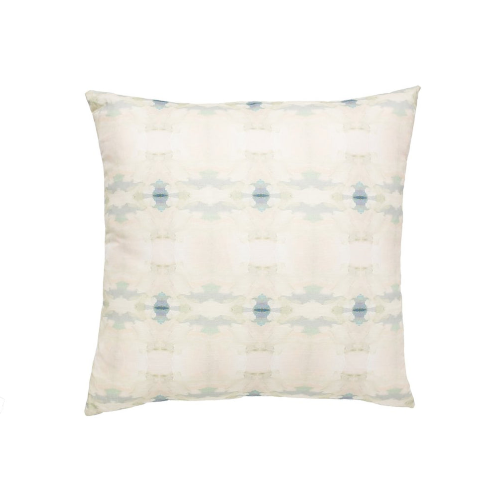 Coral Bay Pale Blue Outdoor Pillow