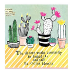 Curly Girl Design, Gifts - Other,  Curly Girl Designs Cactus Canvas