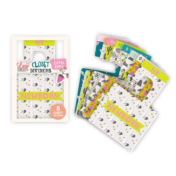 Lucy Darling, Baby - Nursery Organization,  Little Love Closet Divider Set