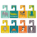 Lucy Darling, Baby - Nursery Organization,  Little Animal Closet Divider Set