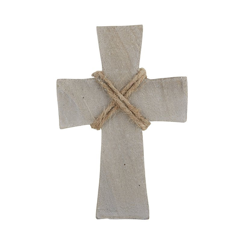 Paulownia Wood Standing Cross - Small - Eden Lifestyle