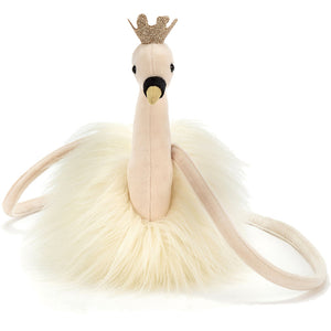 Jellycat Fancy Swan Bag-Accessories - Handbags-Jellycat-Eden Lifestyle