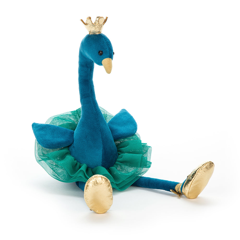 Jellycat Fancy Peacock-Gifts - Stuffed Animals-Jellycat-Eden Lifestyle