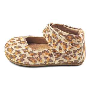 Livie & Luca, Shoes - Girl,  Livie & Luca Astrid Mary Jane Leather Leopard Shoe