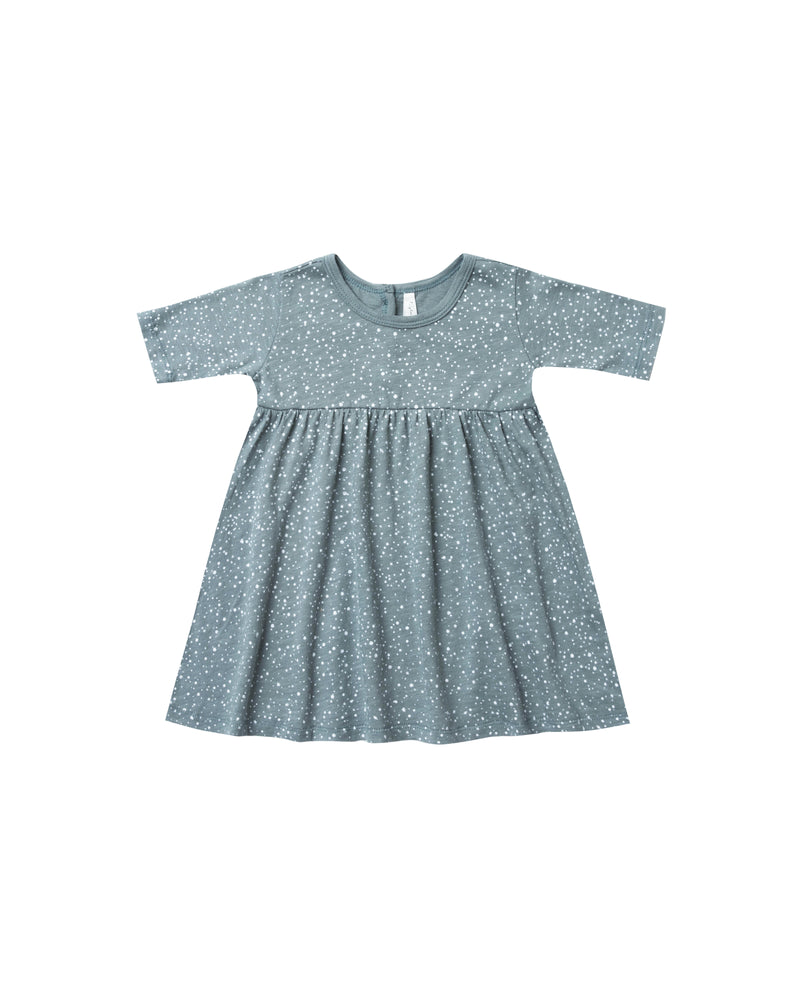 Rylee & Cru Snow Finn Dress Dusty Blue