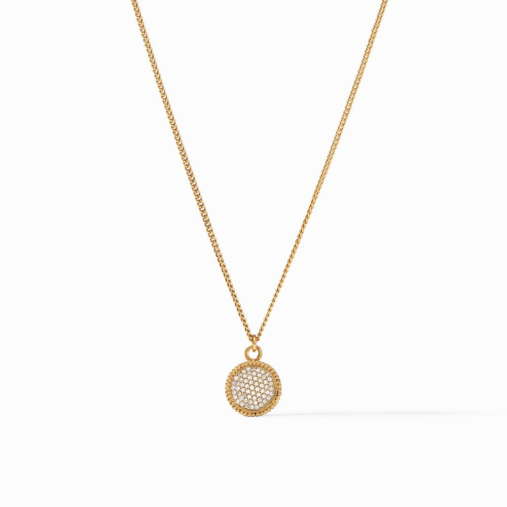 Julie Vos, Accessories - Jewelry,  Julie Vos - Fleur-de-Lis Solitaire Necklace
